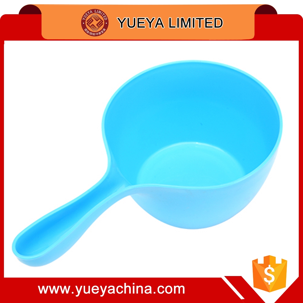 multi-color round water ladle for baby--blue