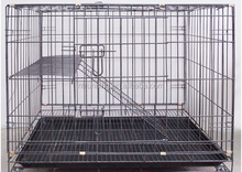 black pets cages