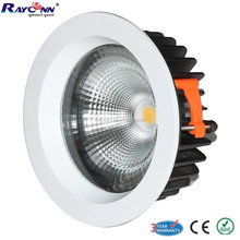 High quality no UV IR 3000K 4000K 5000K cob recessed led lamp fixture 30W