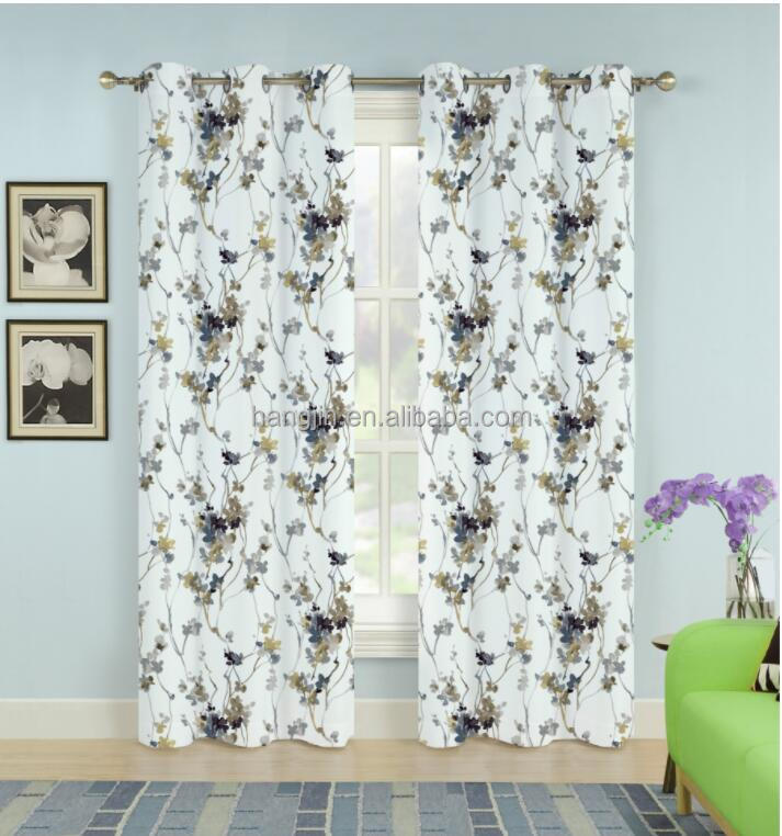 Wholesale Fresh Style Curtain And Blinds Ready Made Curtain