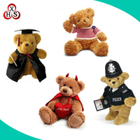 2016 Hot Sell Custom Design Plush Teddy Bear In High Export Quality