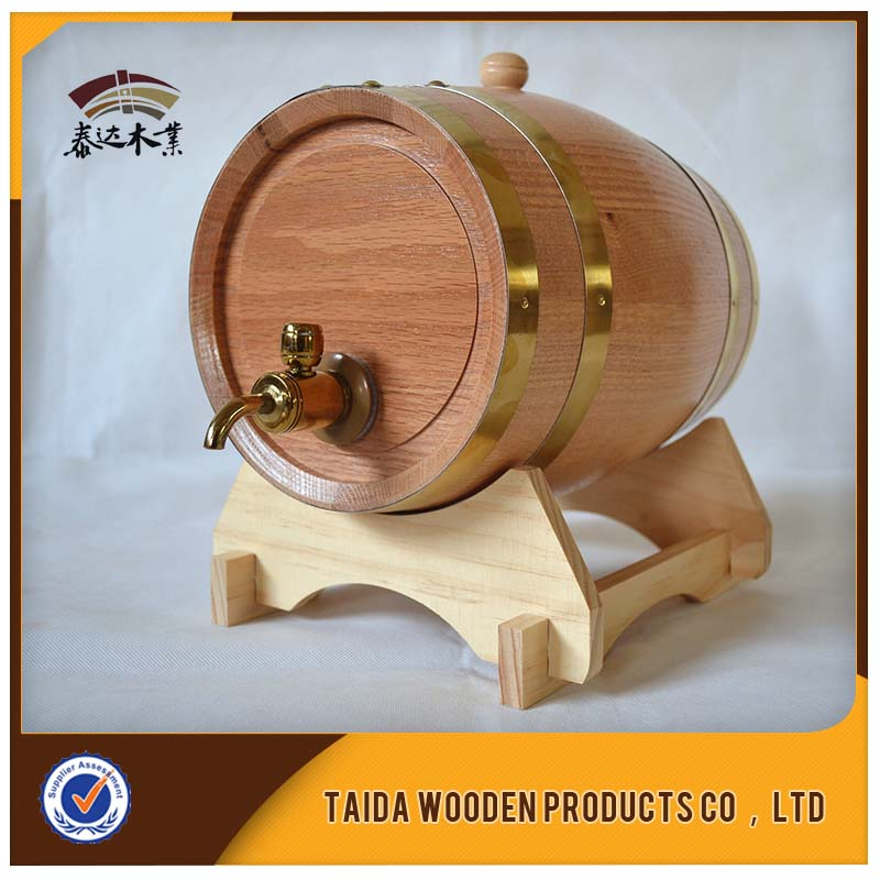 Hot Sale Mini Craft Buckets 5l Wooden Wine Barrel