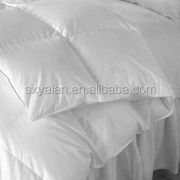 Hot selling 100% cotton hotel duvet pillow sheel down proof fabric