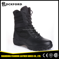 2015 china military boots police shoes, steel toe military boots, men military boots FD8201