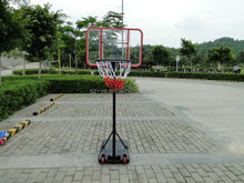 adjustable basketball shelf and ring goal or stand