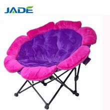Popular Washable Folding Cheap Round Single Moon Chair,Lazy Chair Folding Planet Chair,cheap used folding round moon chairs
