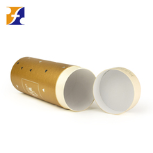 Cylinder wine bottle gift box packaging cardboard wine glass cylinder packaging box with lid