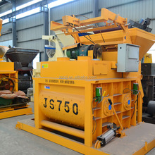China portable central machinery cement mixer parts JS750 for sale