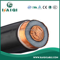 26/35kV copper conductor XLPE insulation steel wire armored 120mm2 electric power cable