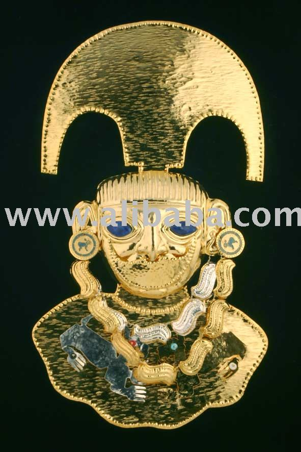 INCA CULTURE masks