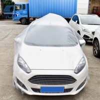 Transparent Disposable Plastic car covers