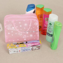 small makeup bag clear pvc cosmetic bag