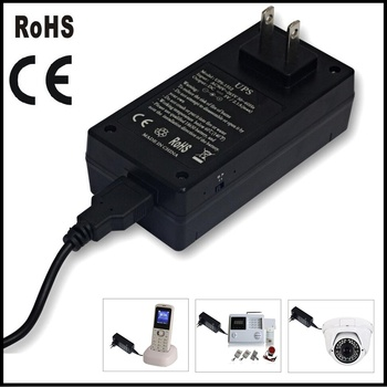 Security System necessary 5v 10w online ups without battery