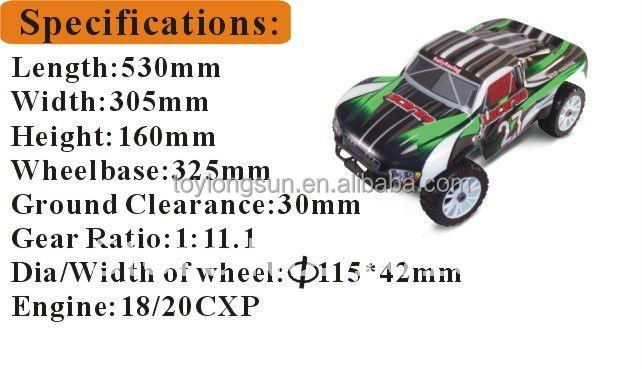 Supremacy Model 1/8th Scale 4wd Gas Powered Rc Rally Car