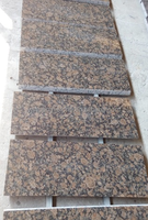 Best selling brown granite baltic brown Paving stone