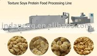 Soya chunks nuggets making machine