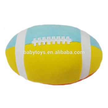 High quality soft stuffed baseball pet toy dog pet ball