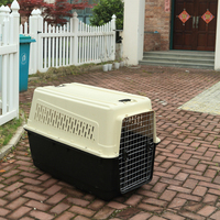 airline approved Convenient plastic dog travelling cage