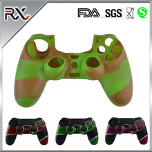 Wholesale Cheap Price Soft Plastic Rubber Replaceable Joystick Gamepad Cover Camouflage Silicone Controller Skin Cover For Ps4