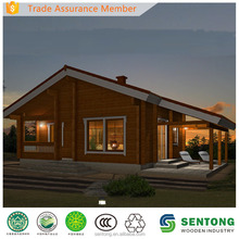 2017 Solid and Modern Prefab Log Cabin Wooden House