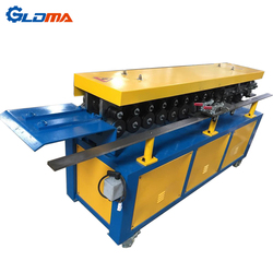 High precision galvanized sheet metal square duct TDF flange making machine for sale