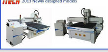 2013 Efficient and Stable wood modeling cnc router for carving ITM1325
