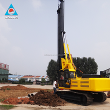 LQ new types of pilling rigs machine 60 m deep rotary drilling rig