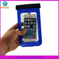 Cooskin Shockproof Waterproof Dustproof Zinc Alloy Metal Protector PVC phone Waterproof case for Apple Iphone 5/5s
