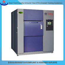 environmental Stress Screening Temperature thermal Shock Test Chambers 3 zones for Rapid Temperature Cycling