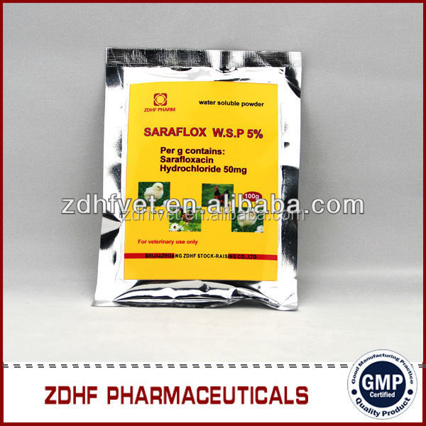 blood circulation medicine 30% sulfaclozine sodium water soluble powder medicine