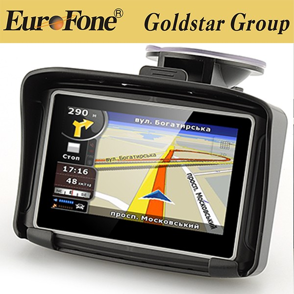 2016 Updated Version! 4.3 Inch 8GB FM Waterproof Bluetooth Moto Motorbike Motorcycle GPS Navigator+Free Maps for Most Country