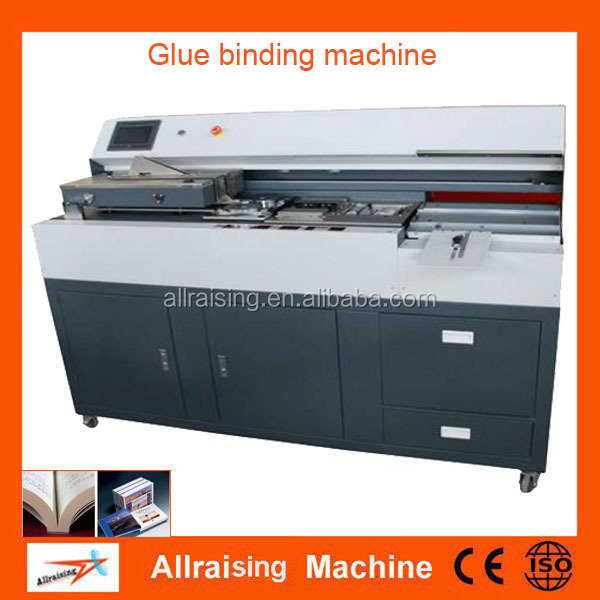 Wholesale hot selling book binding machine A3 perfect glue binder with side glue