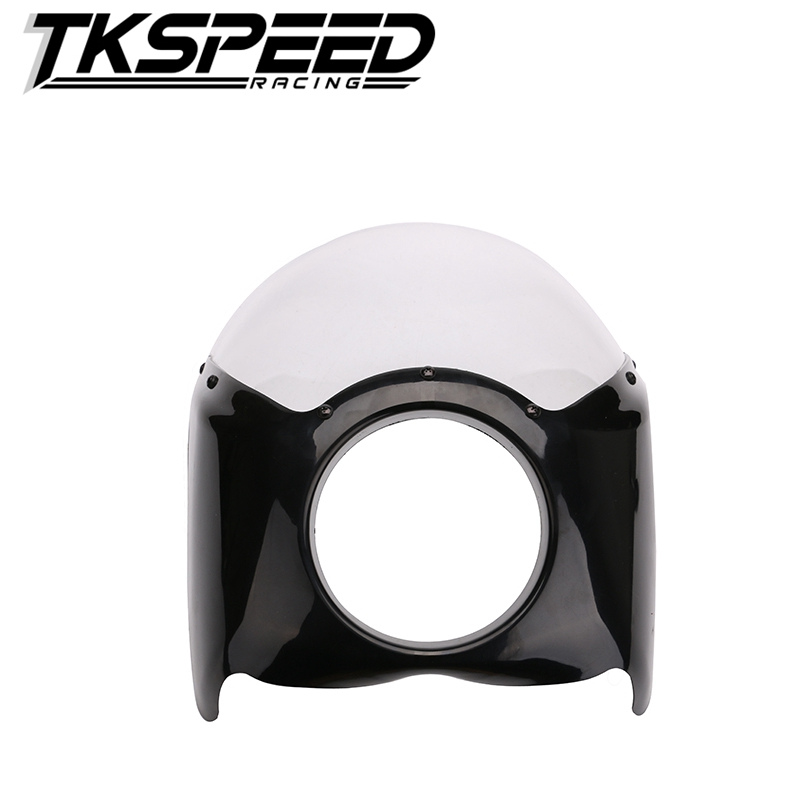 New arrived Wide Glide/Custom Mid Motorcycle Headlight Plastic Front Fairing Kit