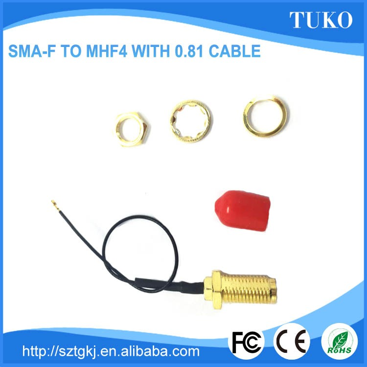 Hot selling durable service waterproof sma connector crimp sma rf connector