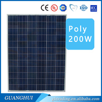 Hot sale poly 200Wwatt 240w solar panel 24v preferential price with high efficiency Chinese producter