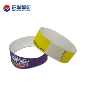 latest bracelet smart card rfid paper wrist bands hospital bracelets with ISO15693