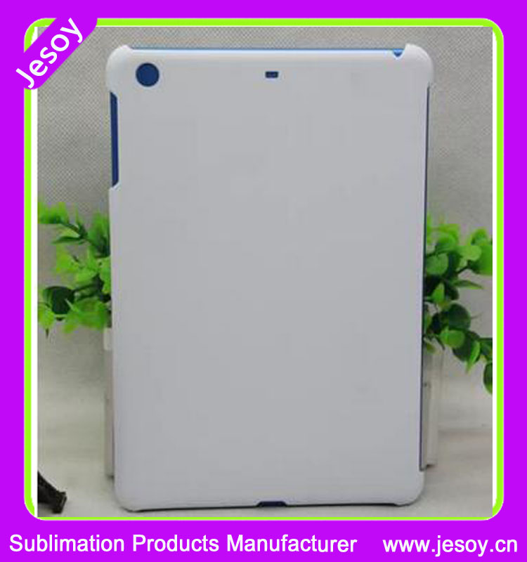 JESOY 3D Sublimation Glossy Matte White Case Cover For iPad 5 6 Case