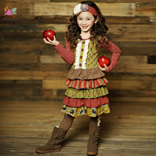 boutique outfits cotton children girls dresses
