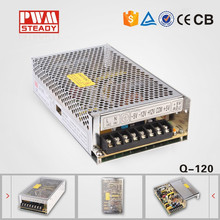 import cheap goods 120W Quad output 5v 24v switching power supply multiple output smps Q-120B