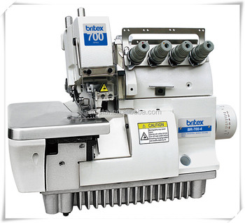 BR-700-4 Four Thread Overlock, High Speed Elastic Overlock Sewing Machine industrial overlock sewing machine and price