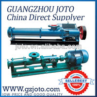 china supplier G type screw water pump price india