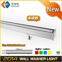 High Power 44W DMX512 RGB color changer LED wall washer light