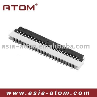 pedal-lift 0.3mm FPC Connector 30 pin connector smt