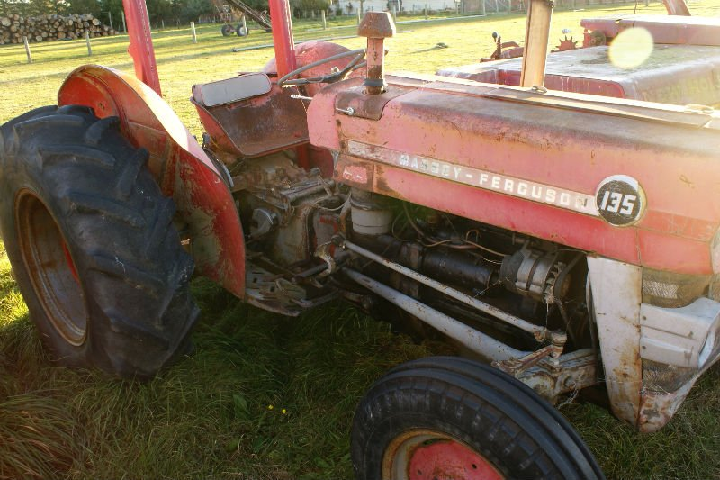 Classic tractors and machinery