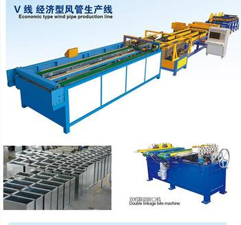 Exported to Austrilia Square duct machine, Duct making machine, auto hvac duct production line 5 with top quality