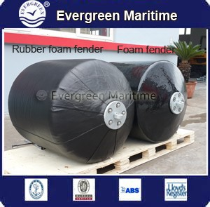 boat/ship/vessel foam fender Professional High-performance Marine foam fender(PU or vulcanized rubber EVA foam filled fender)