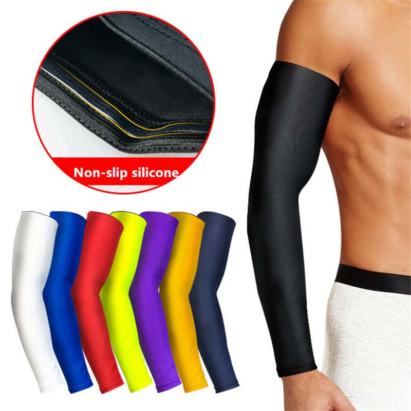 Cheap Wholesale Compression Mans Sports Arm Sleeves