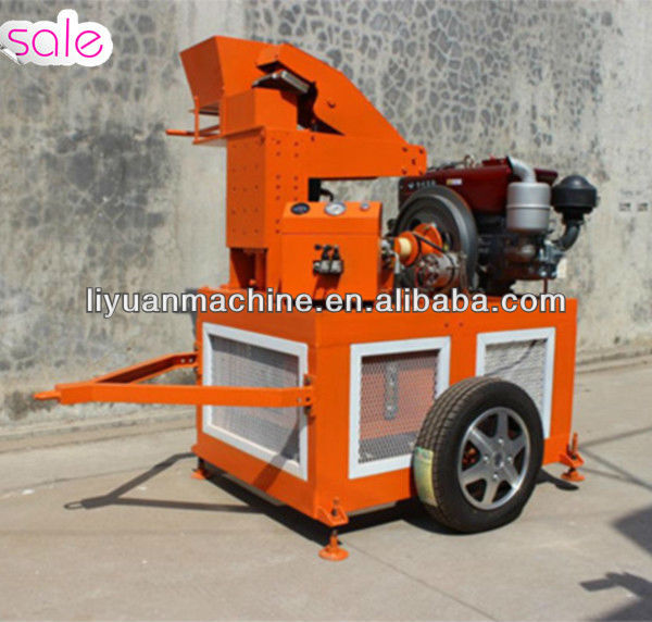 Manpower Demand LY1-20 Vibreur Clay Bricks Equipments Press Machinery