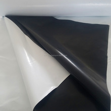 80 110 120 150 180 200 250 micron Anti-UV white/black opaque polythene PE cover film for light deprivation tunnel greenhouse