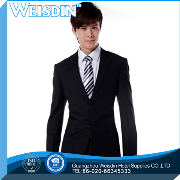 Business suits hot sale polyester/cotton indian men wedding suit
